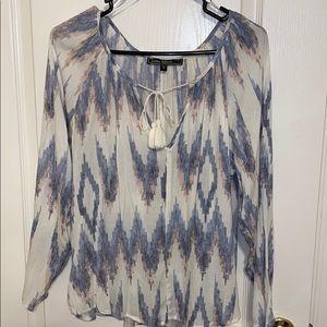 love stitch multi colored blouse